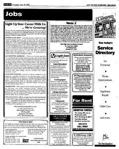 Syracuse Post Standard, June 16, 2005, Page 255
