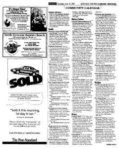 Syracuse Post Standard, June 16, 2005, Page 323