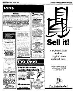 Syracuse Post Standard, June 16, 2005, Page 343