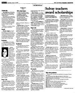Syracuse Post Standard, June 16, 2005, Page 545