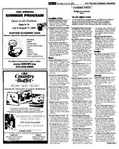 Syracuse Post Standard, June 16, 2005, Page 549