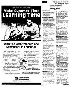 Syracuse Post Standard, June 16, 2005, Page 553