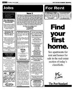 Syracuse Post Standard, June 16, 2005, Page 565