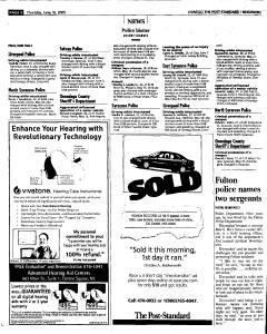 Syracuse Post Standard, June 16, 2005, Page 837