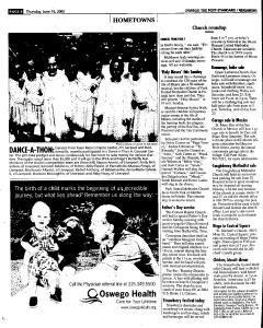 Syracuse Post Standard, June 16, 2005, Page 841
