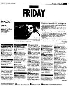 Syracuse Post Standard, June 16, 2005, Page 127