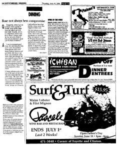 Syracuse Post Standard, June 16, 2005, Page 155