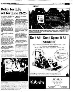 Syracuse Post Standard, June 16, 2005, Page 203