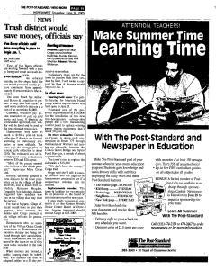 Syracuse Post Standard, June 16, 2005, Page 377