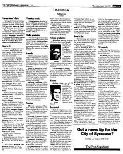 Syracuse Post Standard, June 16, 2005, Page 465