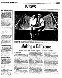Syracuse Post Standard, June 16, 2005, Page 731