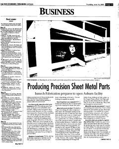 Syracuse Post Standard, June 16, 2005, Page 757