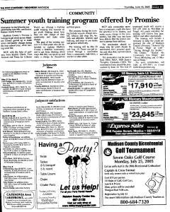 Syracuse Post Standard, June 16, 2005, Page 811