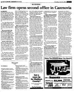 Syracuse Post Standard, June 16, 2005, Page 815