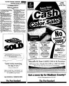 Syracuse Post Standard, June 16, 2005, Page 819