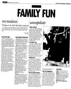 Syracuse Post Standard, June 16, 2005, Page 176