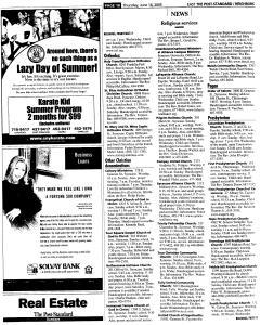 Syracuse Post Standard, June 16, 2005, Page 216