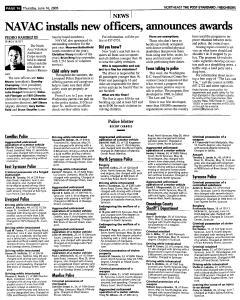 Syracuse Post Standard, June 16, 2005, Page 290