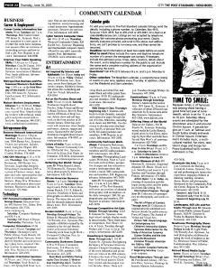 Syracuse Post Standard, June 16, 2005, Page 476