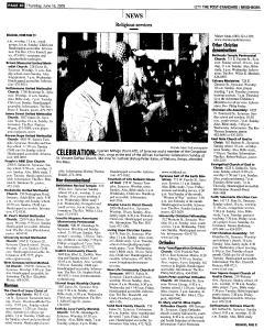 Syracuse Post Standard, June 16, 2005, Page 492
