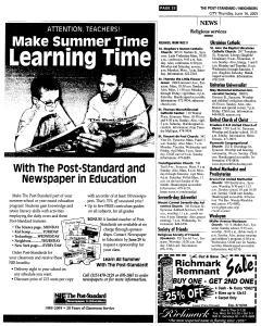 Syracuse Post Standard, June 16, 2005, Page 496