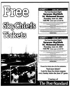 Syracuse Post Standard, June 16, 2005, Page 540