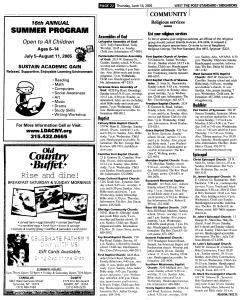 Syracuse Post Standard, June 16, 2005, Page 548