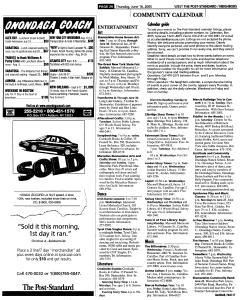 Syracuse Post Standard, June 16, 2005, Page 556