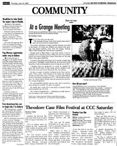 Syracuse Post Standard, June 16, 2005, Page 740