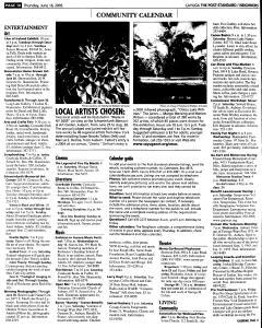 Syracuse Post Standard, June 16, 2005, Page 744