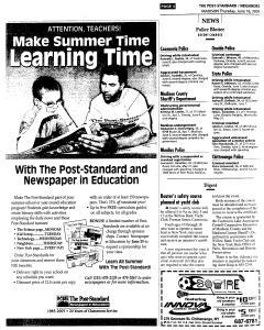 Syracuse Post Standard, June 16, 2005, Page 778