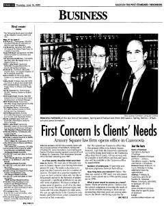 Syracuse Post Standard, June 16, 2005, Page 812