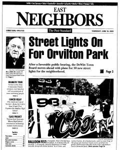 Syracuse Post Standard, June 16, 2005, Page 182