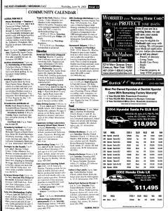 Syracuse Post Standard, June 16, 2005, Page 244