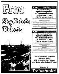 Syracuse Post Standard, June 16, 2005, Page 272