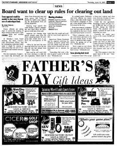 Syracuse Post Standard, June 16, 2005, Page 280