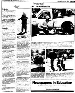 Syracuse Post Standard, June 16, 2005, Page 308