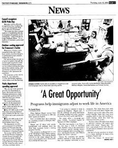 Syracuse Post Standard, June 16, 2005, Page 440