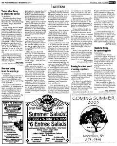 Syracuse Post Standard, June 16, 2005, Page 514