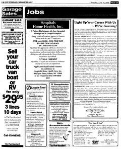 Syracuse Post Standard, June 16, 2005, Page 562