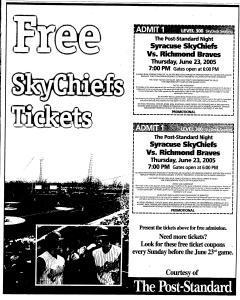 Syracuse Post Standard, June 16, 2005, Page 734