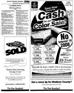 Syracuse Post Standard, June 16, 2005, Page 818