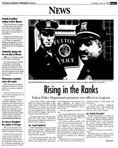 Syracuse Post Standard, June 16, 2005, Page 830