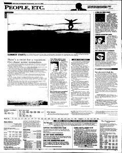 Syracuse Post Standard, June 22, 2005, Page 3