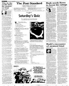 Syracuse Post Standard, June 25, 2005, Page 20
