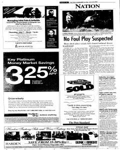 Syracuse Post Standard, June 26, 2005, Page 18
