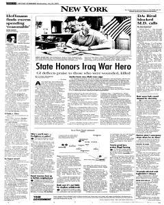 Syracuse Post Standard, July 20, 2005, Page 84
