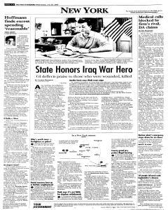 Syracuse Post Standard, July 20, 2005, Page 102