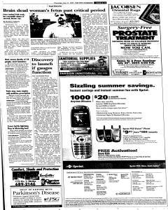 Syracuse Post Standard, July 21, 2005, Page 11