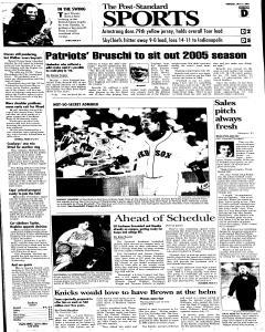 Syracuse Post Standard, July 21, 2005, Page 25